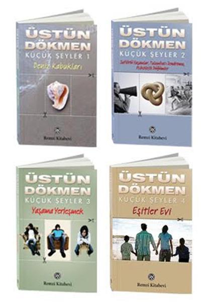 Üstün Dökmen Küçük Şeyler 4 kitap Set (defter ve ayraç hediyeli)
