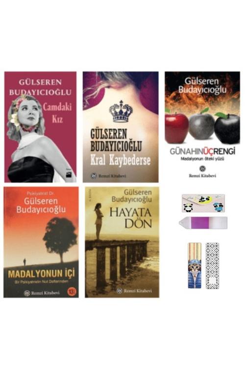 Gülseren Budayıcıoğlu 5 Kitap Set (Ayraç + Defter Hediyeli )