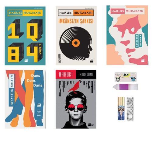 Haruki Murakami Seti 5 Kitap ( Defter + Ayraç Hediyeli )
